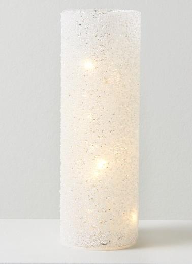 Chakra Enjoy Led Işıklı Dekor 7*20 Cm Beyaz